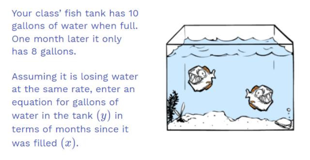 Fish Tank problem statement