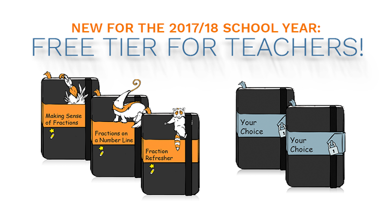 Free Tier for Teachers announcement