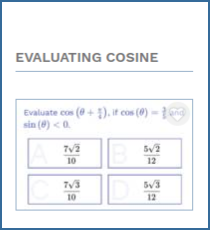 Evaluating cosine