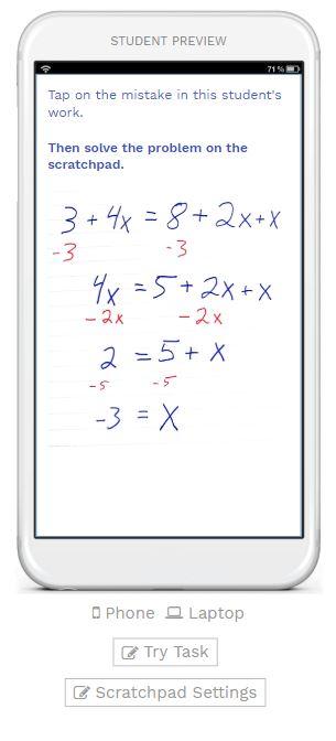 Scratchpad Tutorial: Assess Student Work - Woot Math