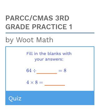PARCC/CMAS 3rd Grade Practice Quiz 1