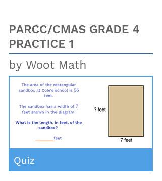 PARCC/CMAS Grade 4 Practice Quiz 1