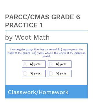 PARCC/CMAS Grade 6 Practice 1