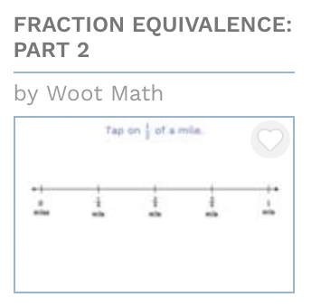 Fractions Equivalence Part II