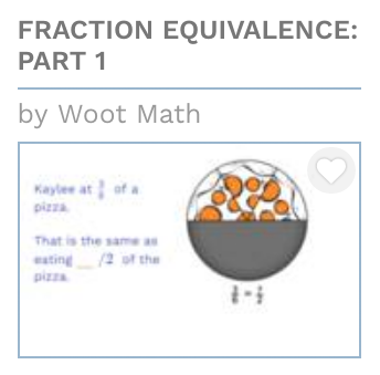 Fraction Equivalence Part I