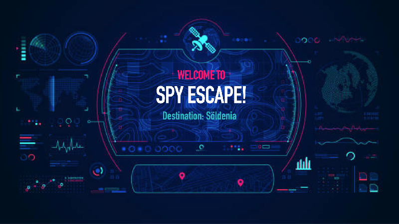 Spy Theme Escape Room